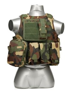 Hunting Tactical Airsoft Vest Combat Safety Military Vest pictures & photos