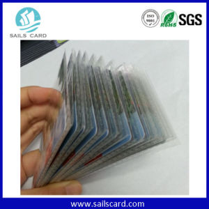 Top Quality Printing 400g Paper Scratch Prepaid Card for Calling Card pictures & photos
