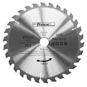 235mm*30t Tungsten Carbide Tipped (TCT) Circular Saw Blade pictures & photos