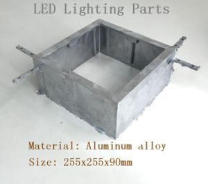 Aluminum Alloy LED Lamp Die Casting Shell Parts pictures & photos