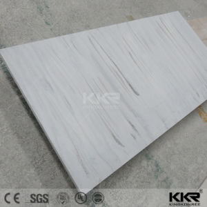 White Resin Stone Acrylic Solid Surface Sheet pictures & photos