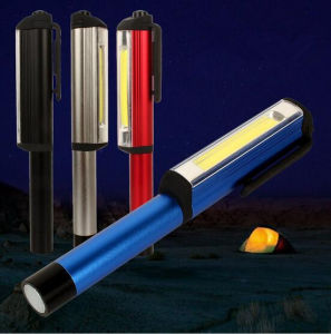 Multi-Functional COB Portable LED Work Light with Magnetic Clip pictures & photos