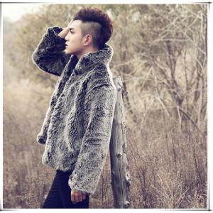 Men Faux Mink Fur Coat Fashion Fur Coat pictures & photos