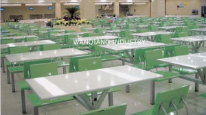 Simple and Generous Design Modern Panel Canteen Furniture Table and Chair (CZ150)
