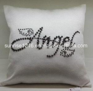 Decorative Cushion Sr-C170220-13 High Fashion Pearled Angel Cushion pictures & photos