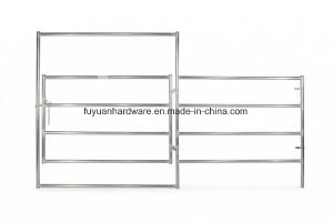 Square Shape Steel Tube Frame Galvanized Farm Gate pictures & photos