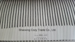 New Popular Project Stripe Organza Voile Sheer Curtain Fabric 0082113 pictures & photos