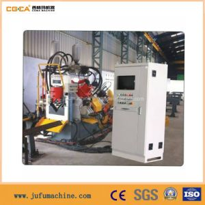 Steel Punching Marking and Shearing Production Line pictures & photos