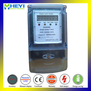 Single Phase Digital Energy Meter Ultrasound Seal Type 230V 5/30A 50Hz pictures & photos