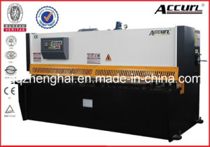 Accurl Brand Hydraulic Metal Shearing Machine QC12y-4X3200 E21 for Cutting Sheet Meta Plate pictures & photos