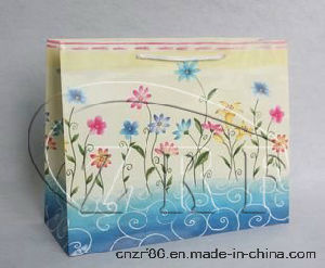 Custom Paper Handle Shopping Bags pictures & photos