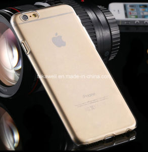 China Wholesale iPhone 5/5se Cell Phone Case for iPhone 6/6s Slim Crystal Protect Silicone Case pictures & photos