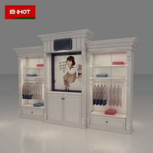 Wall Cabinet Display for Garment Flagship Store