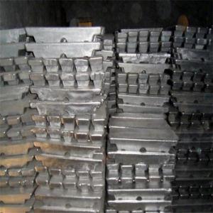 High Purity Sn Tin Ingot 99.99% Pure Tin Ingot pictures & photos