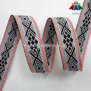 1 Inch Polyester Jacquard Webbing for Garment Accessories pictures & photos