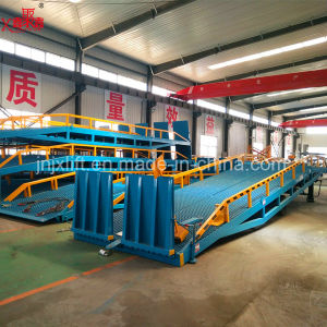 Hydraulic Container Loading Ramp for Forklift with Ce pictures & photos