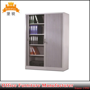 Jas-034 Small Metal Tambour Rolling Door Cabinet pictures & photos
