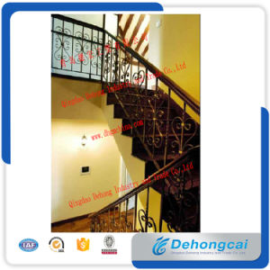 High-Quality Galvanized Wrought Iron Stair Railing/Stainless Steel Stair Railing/Srair Handrail pictures & photos