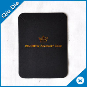Gold Foil High Quality Customized Luxury Board Necklace Display Holder pictures & photos