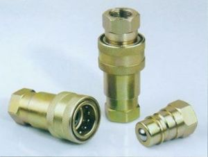 Poppet Valves Type Hydraulic Quick Coupling pictures & photos