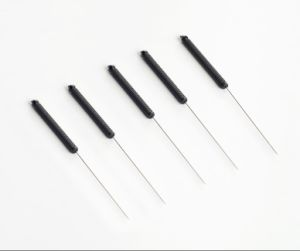 Sterile Acupuncture Needles With Conductive Plastic Handles pictures & photos