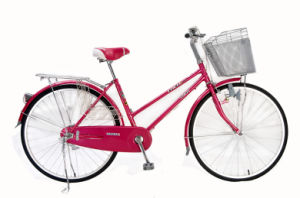 "26"" City Bicycle with Big Basket Lady Bike (hc-CT-2608) pictures & photos"