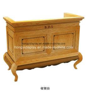 Cash Counter with Wooden Veneer, Cash Desk, Cash Table pictures & photos