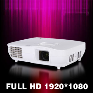 Remote Control 1080P Full HD Home Theater System LCD Projector pictures & photos
