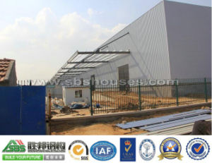 Lightweight Prefabricated Structural Steel Workshop pictures & photos