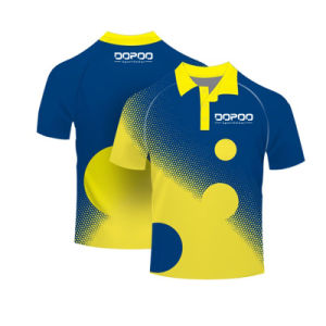 New Design Sublimation School Uniform Polo Shirt with Polyester pictures & photos