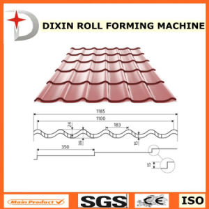 Dx Glzed Roof Step Tile Forming Machine Type Sheet Making Machine pictures & photos