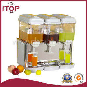 Stainless Steel Three Tanks Juice Dispenser (JD-3SPS) pictures & photos