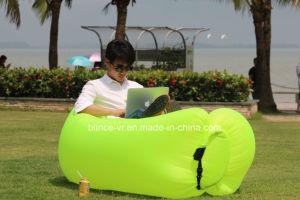 Stock Outdoor Indoor Sleeping Bag Custom Logo Air Inflatable Hangout Sofa pictures & photos