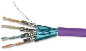 SSTP Cat 7 Cable in Purple pictures & photos