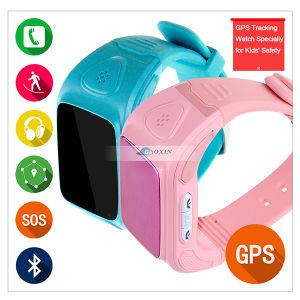 GSM SIM Card Track Kid or Elder Location GPS Sos Watch