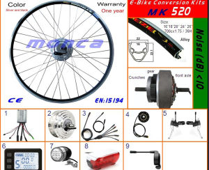 2017 Low Noise Brushless Motor Electric Bike Kits (MK520) pictures & photos