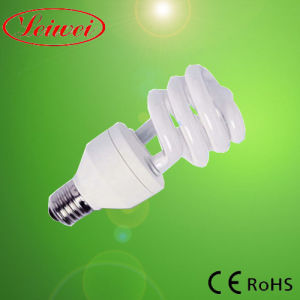 T3 7 9 12 15W Half Spiral CFL Lamp Light