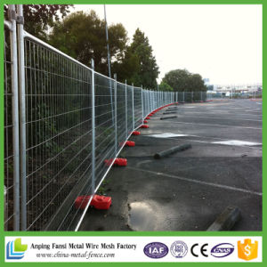 Anping Hot Sale Cheap Portable Temporary Steel Fence pictures & photos