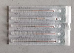 0.20X25mm Jia Chen Brand Acupuncture Needles with Tube pictures & photos