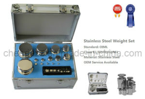 OIML Standard Stainless Steel Test Weight Set pictures & photos