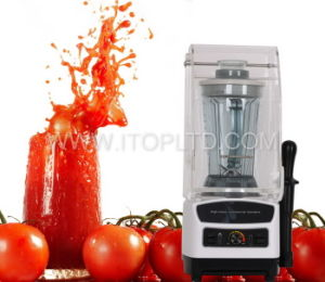 Sound Proof Cover Electric Commercial Blender (BD-111-Z) pictures & photos