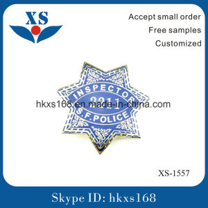 OEM Factory Custom Star Shape Metal Military Badge