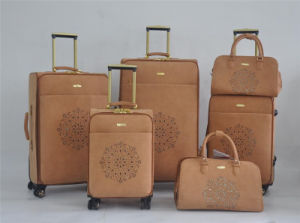PU Leather Material Sipinner Wheels Bags (#5064) pictures & photos