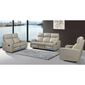 Modern Style Recliner Leather Function Sofa for Home 6040 pictures & photos