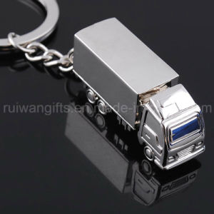 Truck Metal Keyring with Logo for Advertising Gift (MKR029) pictures & photos