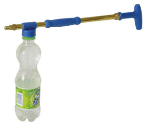 Hand Pressure Double Nozzle Lance Sprayer Matched with Drink Bottle (SX-703) pictures & photos