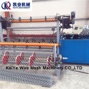PLC Chain Link Fence Wire Mesh Machine (4000mm) pictures & photos