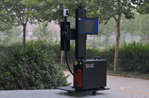 20W 50W Ipg Fiber Laser Marker for Pipe, Plastic/PVC/HDP/PE Non-Metal pictures & photos