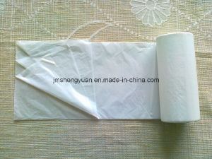 HDPE Plain Star Sealed Disposable Plastic Trash Bag pictures & photos