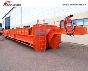 45FT Roller Trailer Mafi Type Trailer with 80ton Capacity pictures & photos
